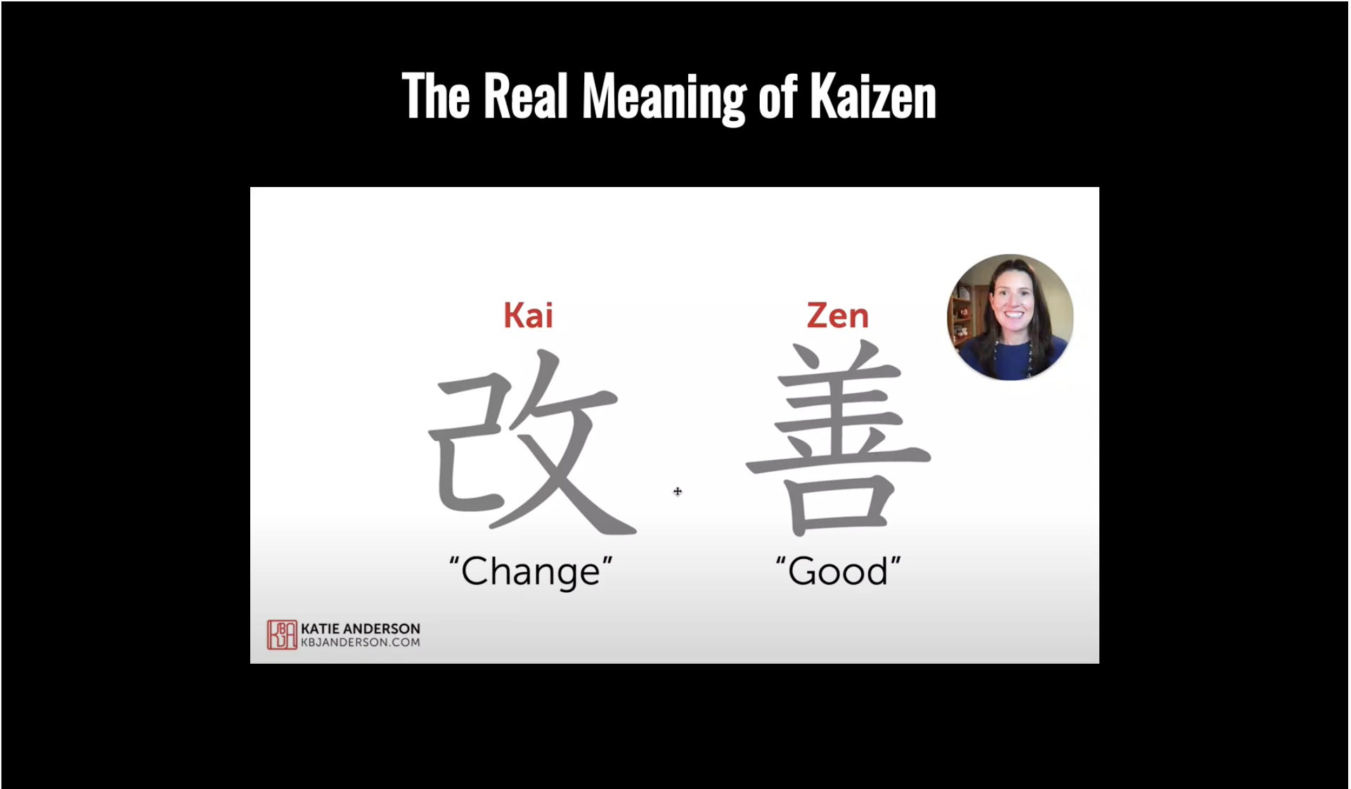 El verdadero significado de Kaizen
