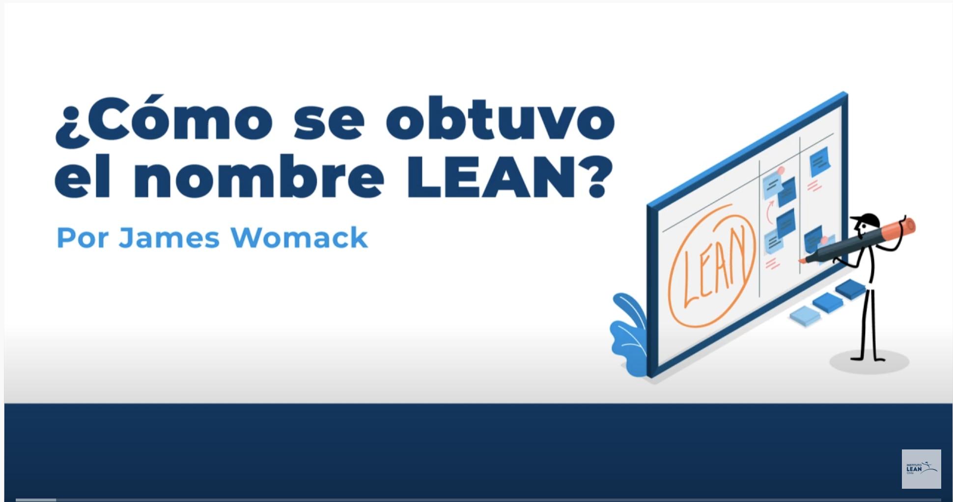 ¿Cómo se obtuvo el nombre Lean?